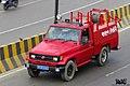 Bangladesh Navy Toyota Land Cruiser 70 fire-tender. (33639307792).jpg