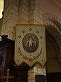 Bannière de procession, Vierge Marie, église ND de l'Assomption de Reillanne.JPG