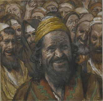 Barabbas - Portrait of Barabbas by James Tissot (1836–1902)