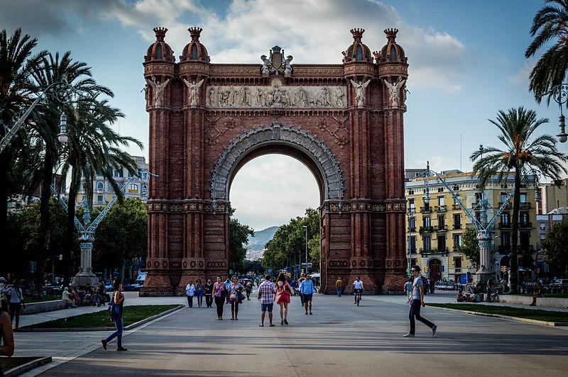 File:Barcelona - Arc de Triomf.jpg