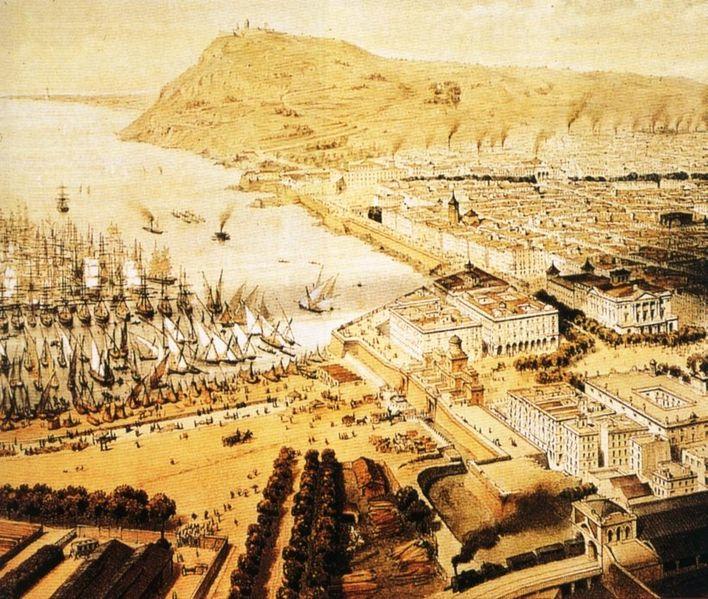 Archivo:Barcelona 1850.jpg