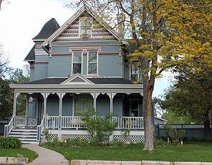 National Register of Historic Places listings in Pueblo County, Colorado - Image: Barndollar Gann House