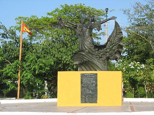 Barranquilla Monumento a la Cumbia