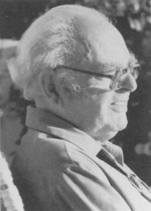 Bart Bok - Bart Bok (1906–1983) in his final year, 1983.