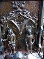 Barth Marienkirche - Tauffünte 3f Relief Heilige.jpg