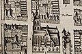 Bartholomeuskerk en weeshuis in Schoonhoven kaart Blaeu 1649.jpg