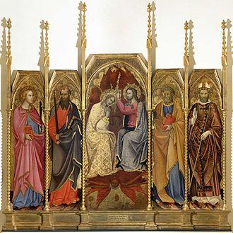Andrea di Bartolo - Coronation of the Virgin.