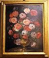 Bartolomeo bimbi, mazzo di rosolacci in vaso di metallo, 1717, 01.jpg