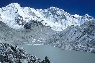 Chhewang Nima - Mount Baruntse in the Himalayas