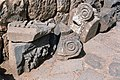 Basilica Complex, Qanawat (قنوات), Syria - East part (?)- fragments of Ionic capitals and other architectural members - PHBZ024 2016 1240 - Dumbarton Oaks.jpg