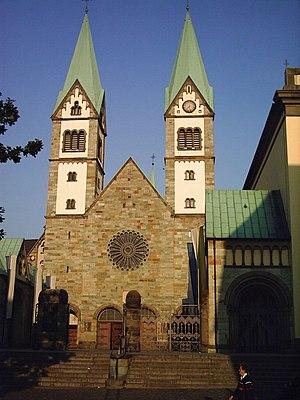 Werl - Image: Basilika Werl