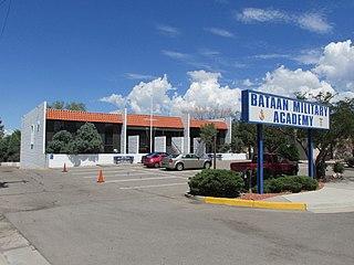 Bataan Military Academy High School in New Mexico
