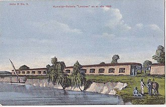 Siege of Humaitá - Image: Bateria londres 1868
