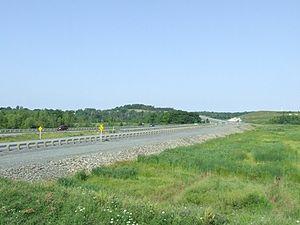 """Battle at St. Croix - """"Battle Hill"""", St. Croix, Nova Scotia"""