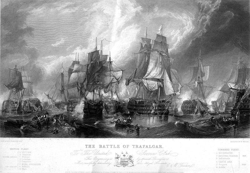 Battle Of Trafalgar Brighton Food Menu
