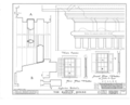 Baylis House, Bedford Green, Bedford, Westchester County, NY HABS NY,60-BED,3- (sheet 10 of 12).png
