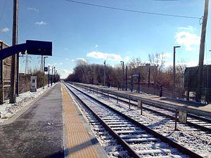 Bois-de-Boulogne station - Image: Bdebstation