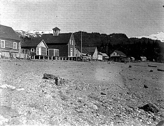 Seldovia, Alaska - Beach at Seldovia, June 1908