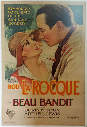 Beau Bandit (1930) - 1SH Movie Poster