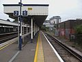 Beckenham Junction bay platform 1 look to buffers.JPG