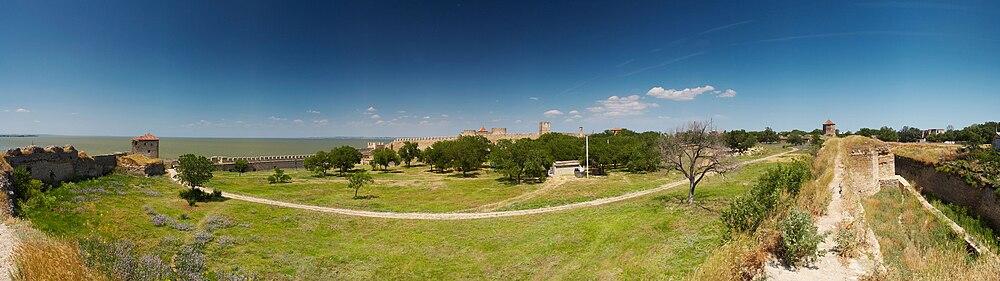 Панорама исторической части Белгород-Днестровского