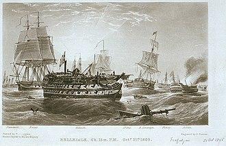 HMS Belleisle (1795) - Image: Belleisle PU5705