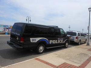 Belmar, New Jersey - Belmar Police Van