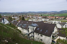 Skyline of Belp
