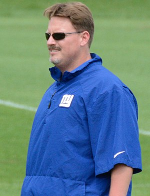 Ben McAdoo - McAdoo coaching the Giants in 2016