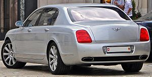 Bentley Continental Flying Spur (2005) - Bentley Continental Flying Spur (Switzerland)