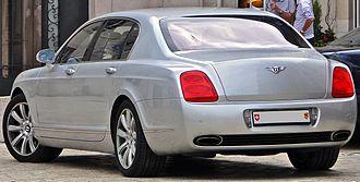 Bentley Continental Flying Spur (2005) - Bentley Continental Flying Spur (Switzerland)