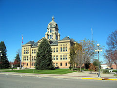 Benton County IA Courthouse