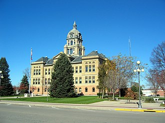 Benton County Courthouse (Iowa) - Image: Benton County IA Courthouse