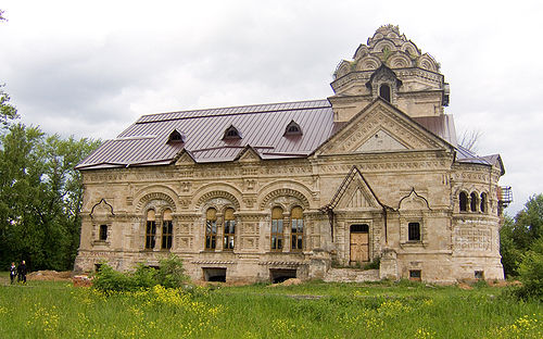 Храм вБерёзовке