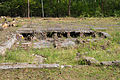 Bergen-Belsen concentration camp - foundations of disinfection building - 02.jpg