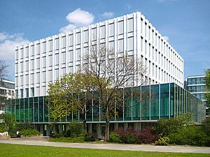 Building of the Heinrich Böll Foundation at Sc...