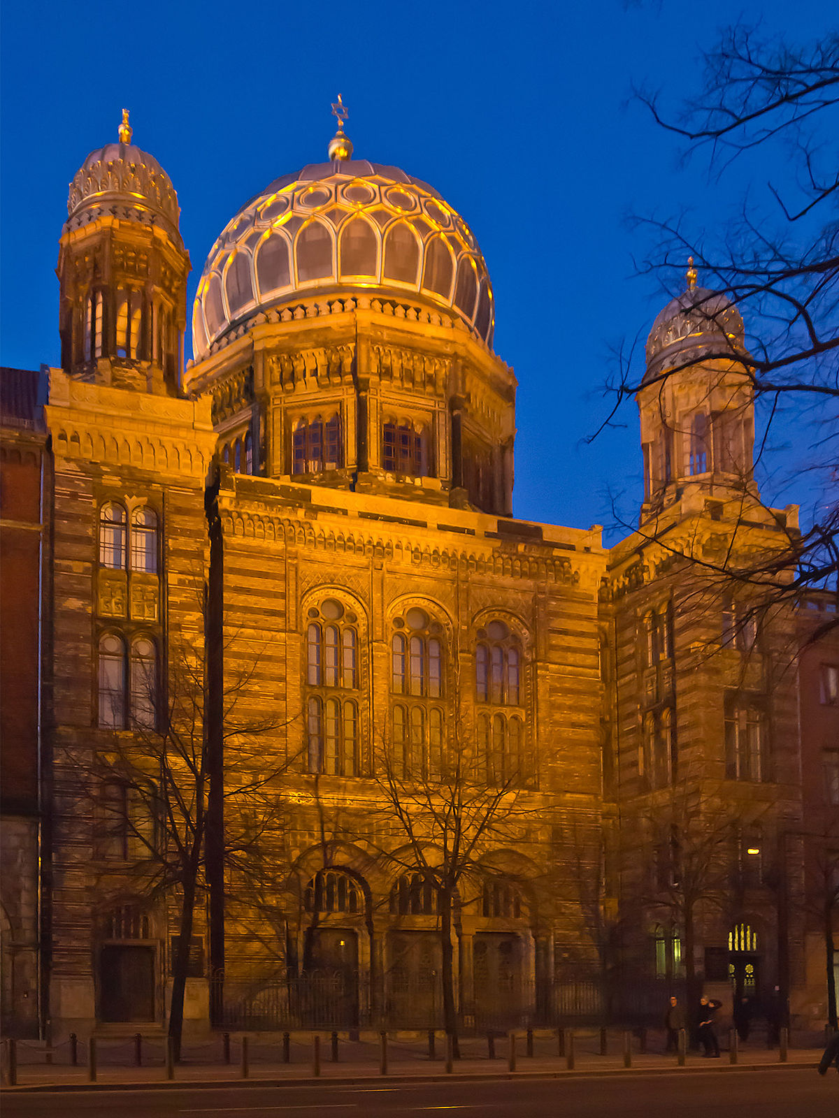 Wikimedia Commons: Neue Synagoge Berlin