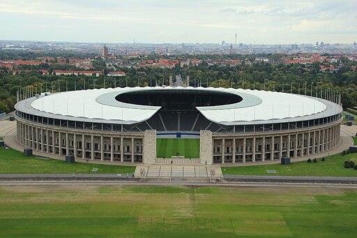 Berliner Olympiastadion, Gesamtansicht 2013