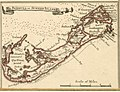 Bermuda - crop of Les principales forteresses, ports &c. de lAmérique septentrionale (4071869633).jpg