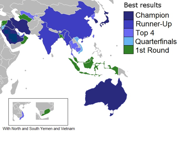Map of best results