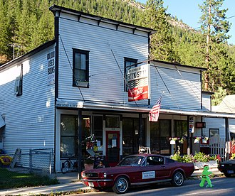 National Register of Historic Places listings in Mineral County, Montana - Image: Bestwick's Market (2013)