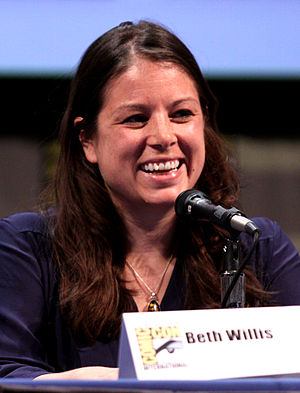 Beth Willis (producer) - Willis at the San Diego Comic-Con International in July 2011.