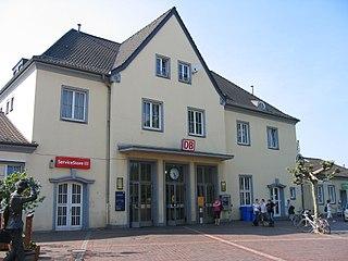 Grevenbroich station railway station in Grevenbroich, Germany