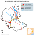 Bhadradri District basic outline map.png