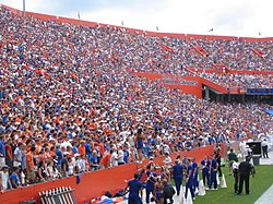A packed Swamp.