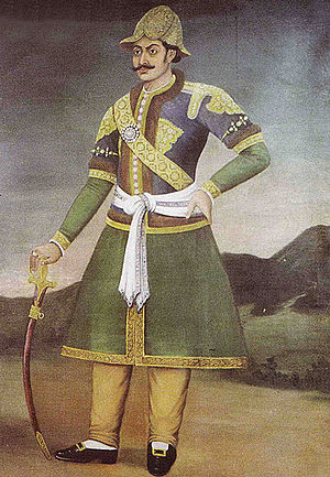 Anglo-Nepalese War - Bhimsen Thapa, prime minister of Nepal from 1806 to 1837.