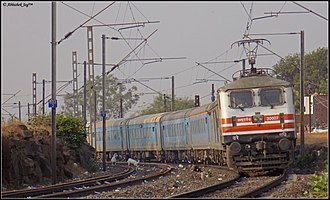 Habibganj - New Delhi Shatabdi Express - Image: Bhopal Shahtbdi