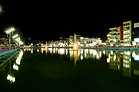 Bibir Pukur Barisal at night.jpg
