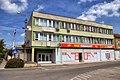 Bicske, Hungary, former communist party HQ 01.jpg