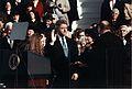 Bill Clinton taking the oath of office, 1993.jpg
